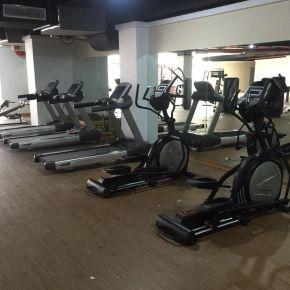南阳镇平街道办单位健身房