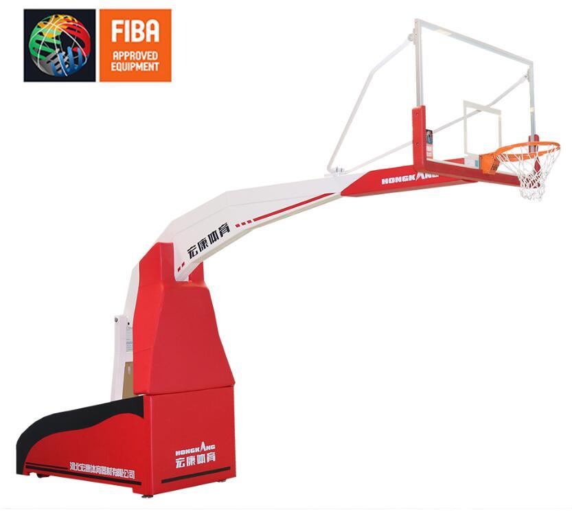 宏康HKF1001电动折叠篮球架