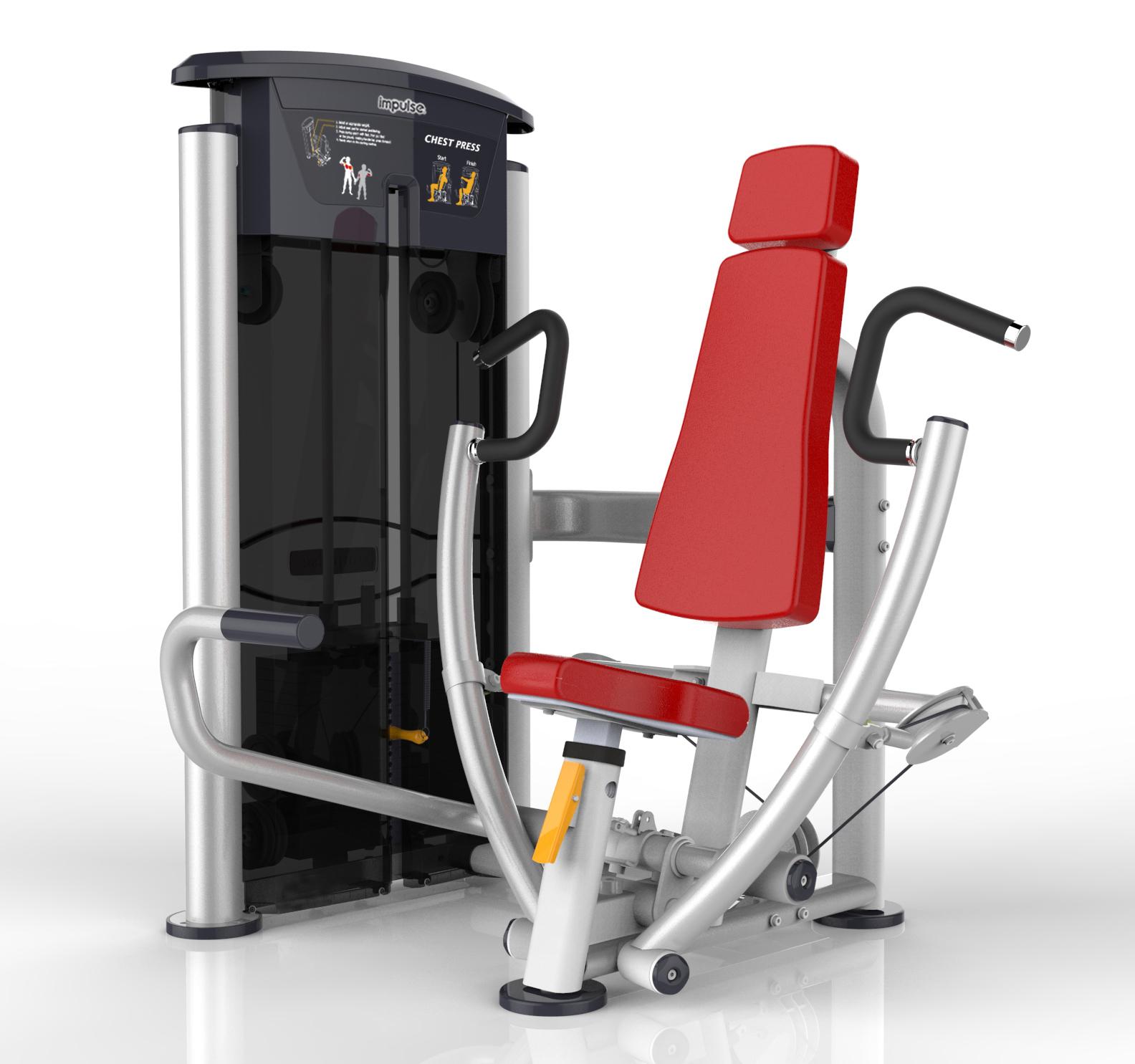 英派斯IT9501坐式胸肌推举训练器