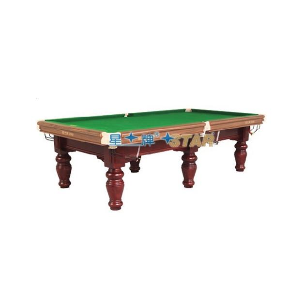 星牌美式落袋球台 台球桌   XW117-9A